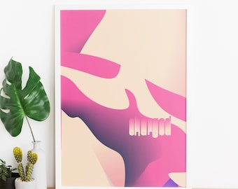 charged - beautiful A4 Poster Print