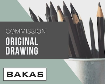 Commission Original Drawing