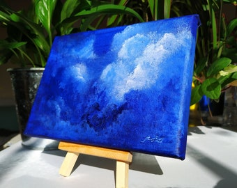 Deep dream, original acrylic landscape painting