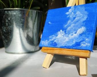 Glory of the Sky, Original Acrylic Skyscape Painting