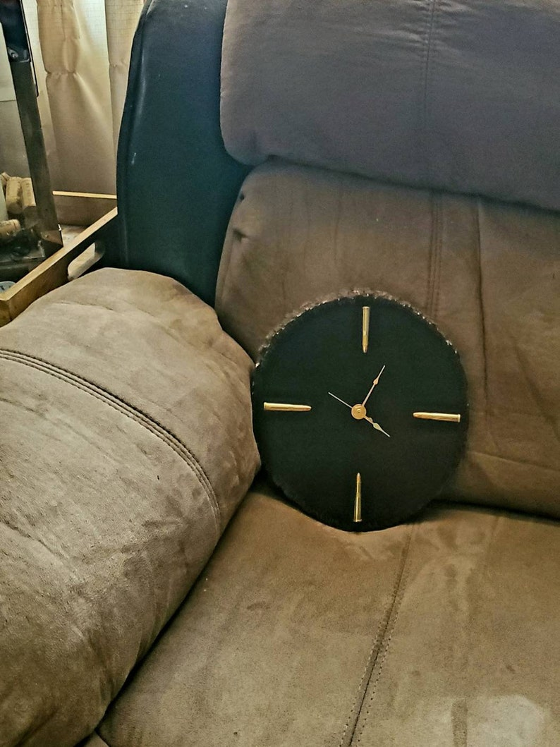 Small Bullet Clock image 0