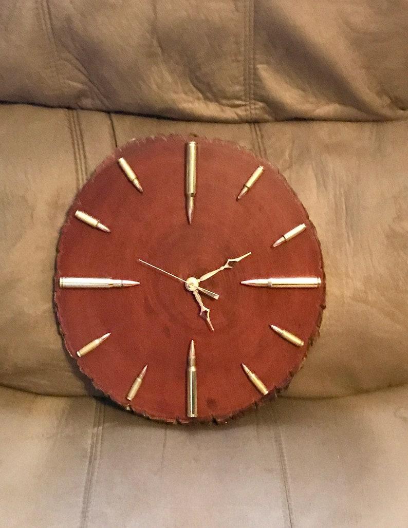 Gunstock Bullet Clock Large image 0