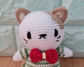 Sweet Crochet Friends cat