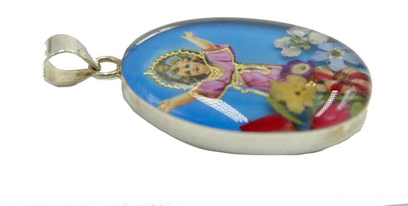 Divino Niño Jesus .925 Sterling Silver Medal-Medalla-Plata .925 Child Christ
