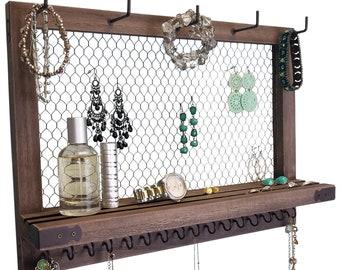 earring display wall