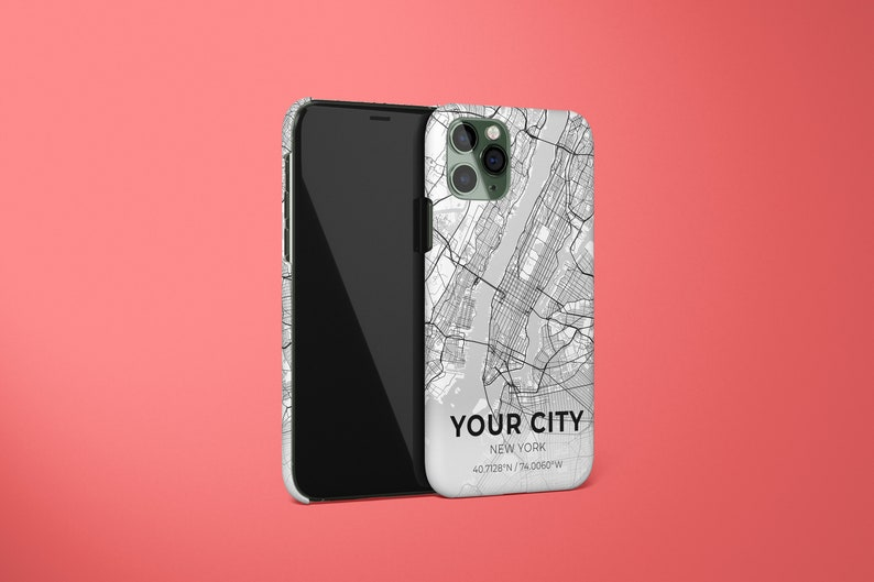 Personalized City Map iPhone Case iPhone 12 Case Pixel 5 iPhone 12 Pro Max Case iPhone 11 Pro Case Galaxy S21 iPhone 11 Case iPhone XS
