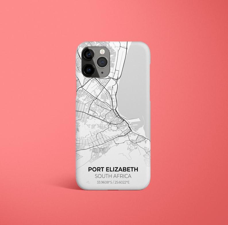 iPhone 12 Pro Max Case iPhone 11 Case Galaxy S21 iPhone 11 Pro Case iPhone X Pixel 5 Port Elizabeth City Map iPhone Case iPhone 12 Case