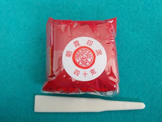 40g Chinese Seal Red Ink Paste Yin Ni For Stamp Chop For Calligraphy And Painting E384