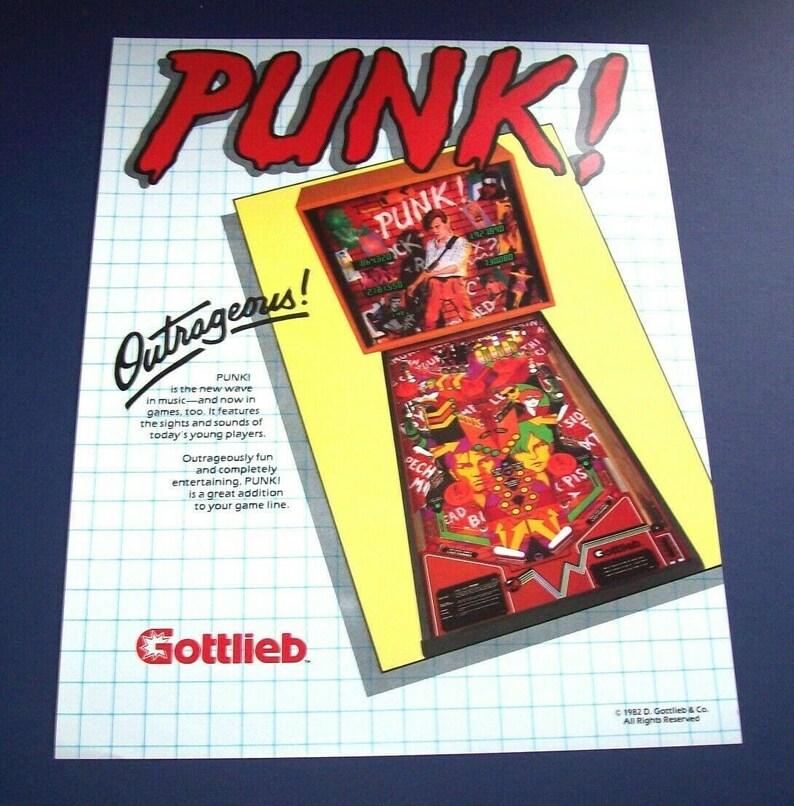 Pinball FLYER Williams Big Ben 1975 Original NOS Promo Game Artwork Paper Sheet