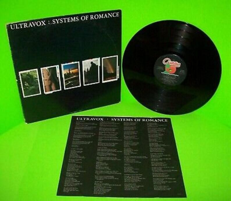 Ultravox Systems Of Romance Vinyl LP Record Album Synth-Pop New Wave John  Foxx Duran Duran OMD Depeche Mode New Order