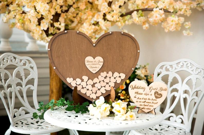 Drop Top Guest book Guest Book Idea Wedding Guestbook Drop Box Wedding Wedding Guest Book Alternative Guest Book Wedding Guest Book