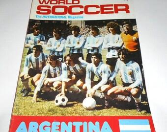 0961b2160e4 World Soccer May 1980 - Football Magazine - Argentina
