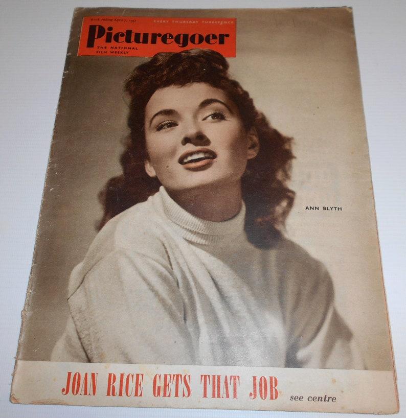 JACK HAWKINS VINTAGE 2 AUG 1952 PICTUREGOER MAGAZINE