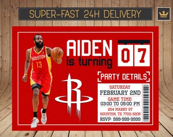 a11bf3f30f26 Houston Rockets Invitation