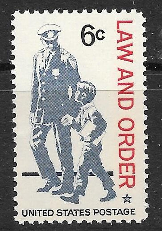 5 6c Law And Order Issue 5 Mint Unused Us Postage Stamps Fully Gummed Lick And Stick Fault Free Ready To Use