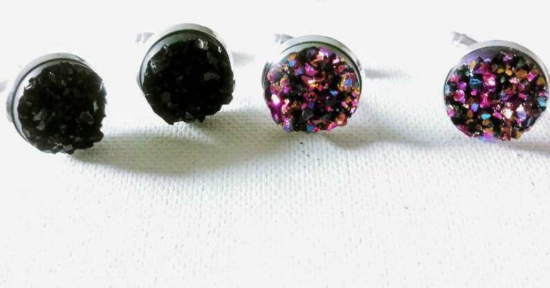 Crystal  Cuff Links