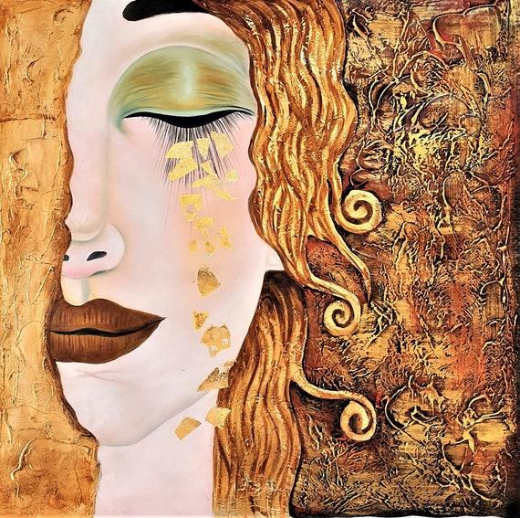 Peinture à la main de reproduction de luxe Peinture à lhuile | Etsy