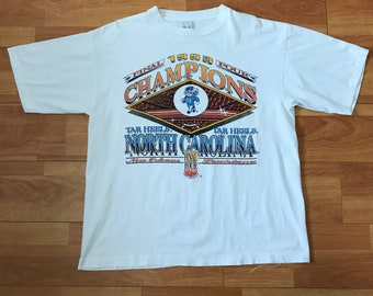 8d597651 1993 North Carolina Tar Heels Final Four NCAA Champions t-shirt