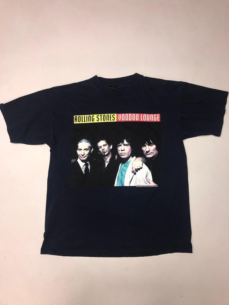 d3c80de39dc5 1994 Rolling Stones Voodoo Lounge tour vintage shirt | Etsy