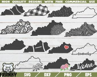 Kentucky Plaid Svg Etsy