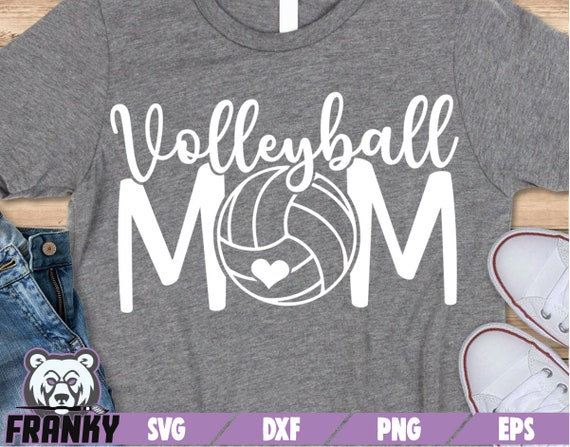 Volleyball Mom Svg Dxf File Cut File Volleyball Mama Svg Etsy