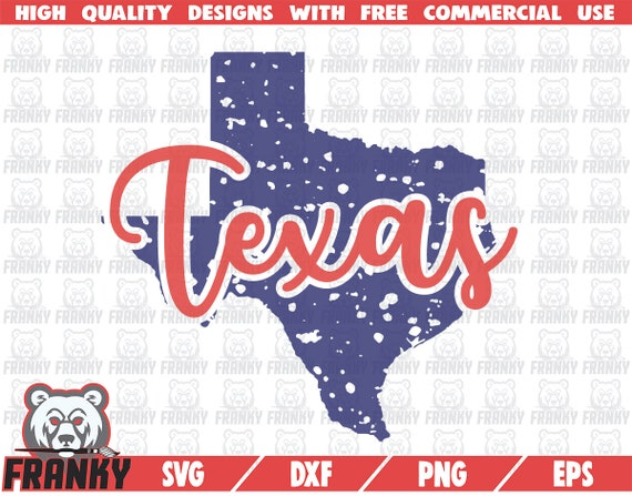 State of Texas Texas shirt SVG DXF file United states svg Texas state Cut file Grunge Texas State SVG Distressed Love texas