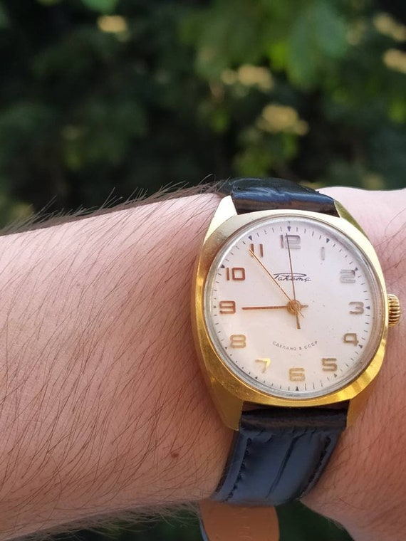 "Vintage watch Raketa""Rocket"" 2609 ha, gold-plated"