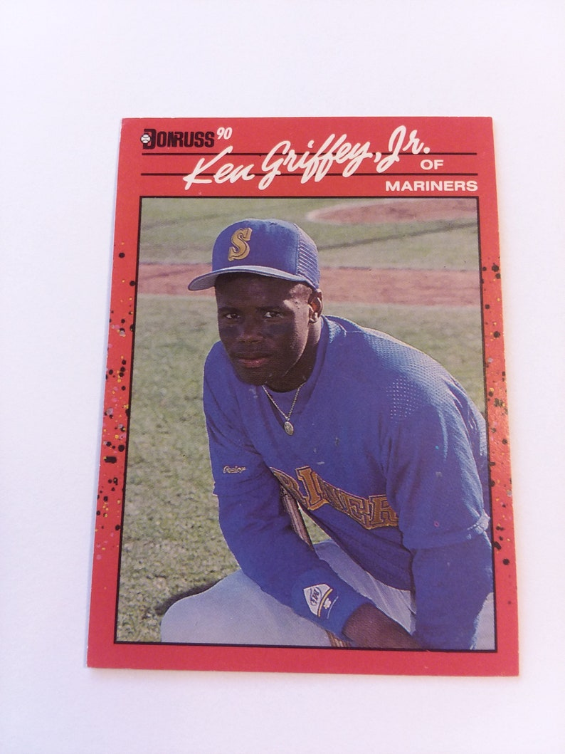 0f1001ab6a 1990 DONRUSS Ken Griffey Jr. Card | Etsy