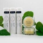 Mini Mint Natural Handcrafted Lip Balm - Mint flavor chapstick infused oil moisturizer lipbalm
