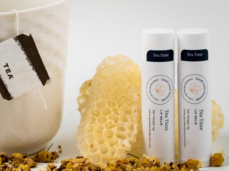 Tea Time Blend   Hand Crafted Lipbalm image 0
