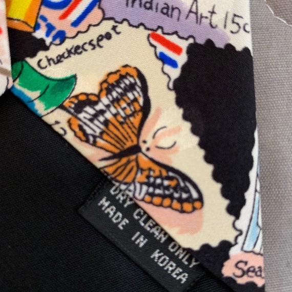 Stamp Tie Nicole Miller - image 4