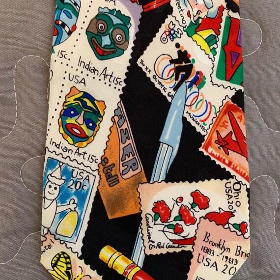 Stamp Tie Nicole Miller - image 2