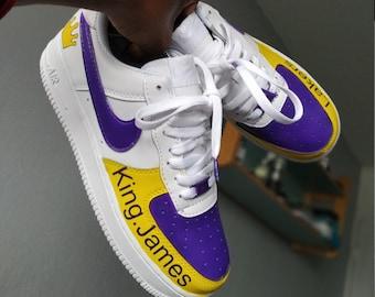 32e6d458b40 Nike Air Force 1 x NBA Lakers