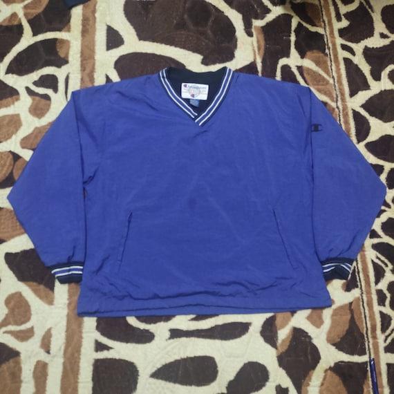 Vintage Champion Windbreaker sweatshirt  tag XL go