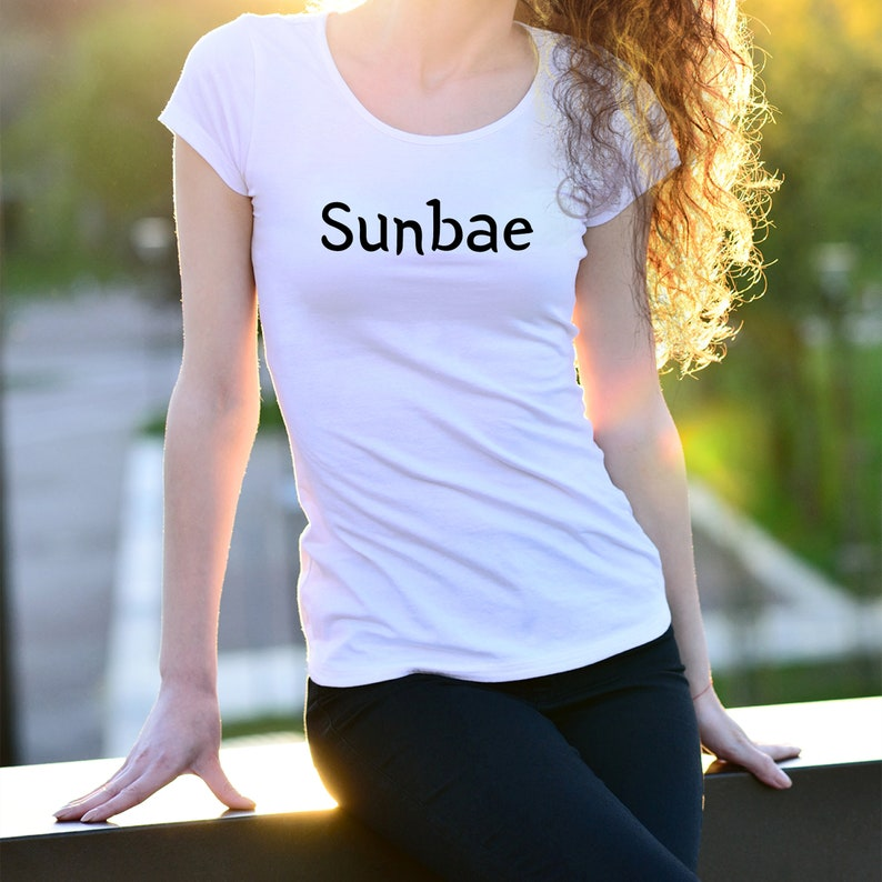Sunbae Korean Drama T-Shirt| K-Drama T-Shirt | Korean Drama Fan Birthday  Gift | Korean Drama Shirt | K-Drama Lover Only | Gift for her