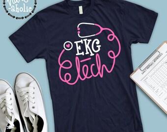 Ekg Nurse Shirt