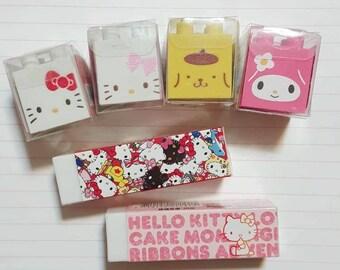 21e2ae8ea FREE SHIPPING Sanrio Erasers Hello Kitty Eraser Pompompurin Eraser My  Melody Eraser School Supplies Office Supplies