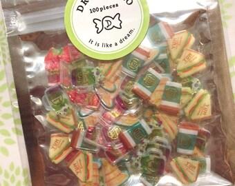 5c2a2624a63 FREE SHIPPING 100pcs Drop Peko Stickers Sandwich Stickers Food Stickers  Deco Stickers