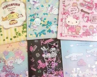 c36a7ba9d FREE SHIPPING Sanrio Clear File Hello Kitty Folder Pompompurin Cinnamoroll  Little Twin Stars Pochacco Kuromi Kikilala
