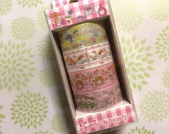 Sanrio Japan Hello Kitty Like tin can juice three paper tapes washi tape
