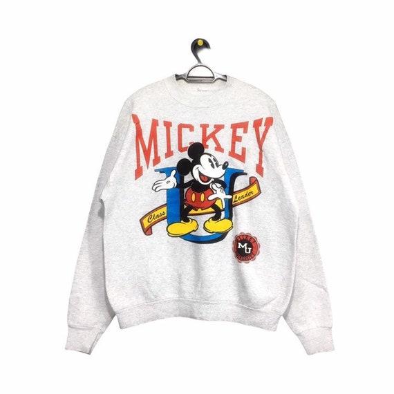 Vintage MICKEY MOUSE university sweatshirt