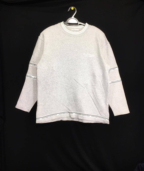 Vintage COURREGES side tape sweatshirt