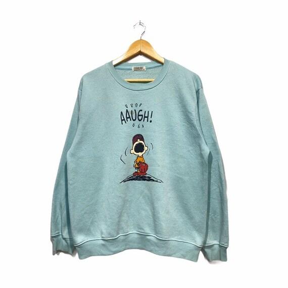 Vintage Snoopy Peanut sweatshirt Pullover jumper