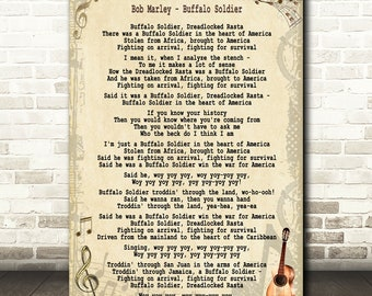 buffalo soldier song