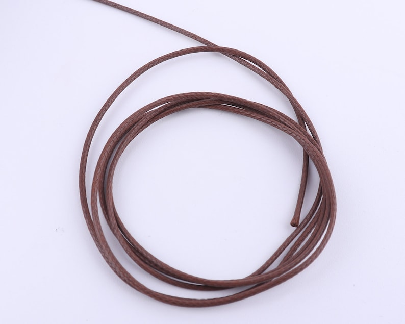 1mm Brown Round Leather Cord,Genuine Round Leather,cowhide Leather,Supple Leather,Genuine Leather Cording,leather for craft diy bracelets