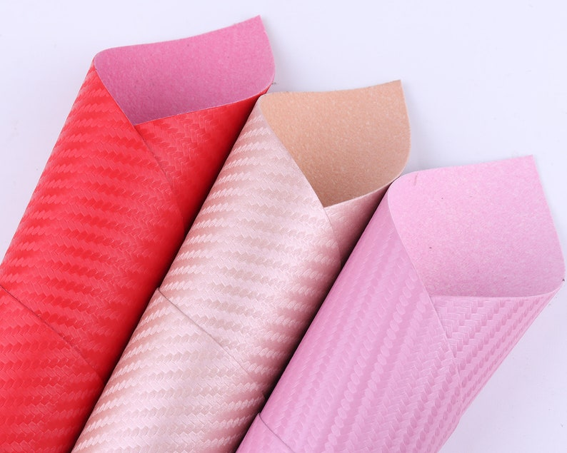 A4 8*12 Softy basket weave leather Faux leather sheets Synthetic craft Leather Sheet PVC Fabric Sheet DIY Hair Bow making Earring Supplies