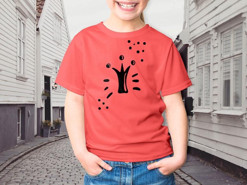 48275064da5a6 Shirts for teenage girl Clothing printing Create t shirt design Cartoon  styles Cool baby clothes Custom t shirt printing Cartoon painting
