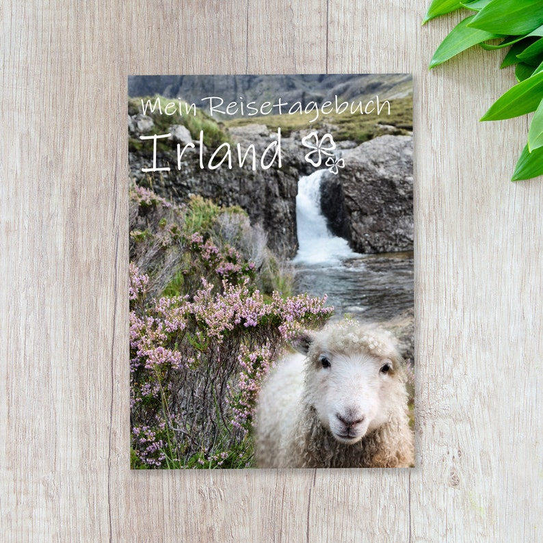 Travel Diary Ireland for Self-Writing  Diary with lots of image 0