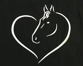 4fa289e6 Horse Heart women's tank