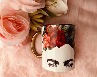 Frida's Eyes coffee mug